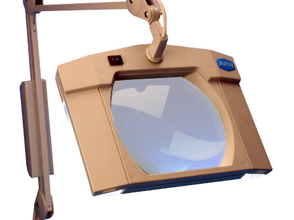 Aven 26505-SIV ProVue LED Magnifier, 3-Diopter Lens, 30