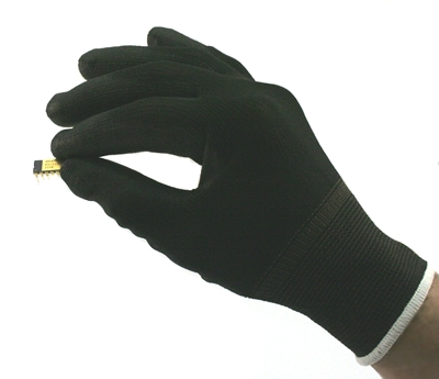 ESD Polyurethane Palm Coated Gloves