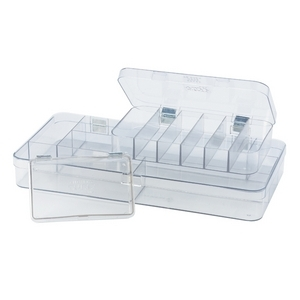 Plastic Compartmented Boxes