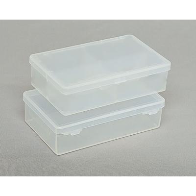 Clear Hinged Plastic Box 4 5 16 Quot X 2 9 16 Quot X 1 1 16