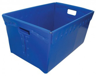 Corrugated Plastic USPS Style Tote, 24