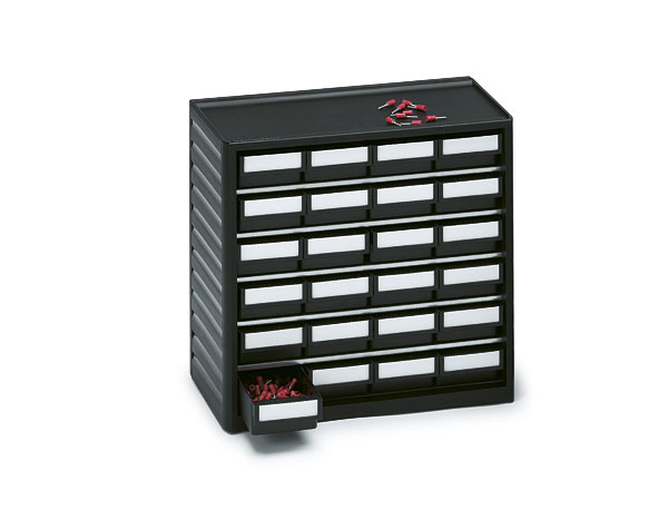 291-4ESD Treston ESD Safe Plastic Storage Cabinet, 24 Drawer