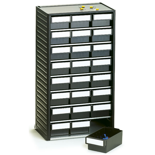 554-4ESD Treston ESD Safe Plastic Storage Cabinet, 24 Drawer