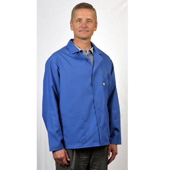 Tech Wear 361-ACS Nylostat ESD Jacket, Blue