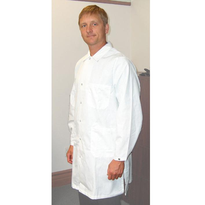 Tech Wear 371-ACQ Nylostat ESD Lab Coat, White