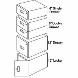 IAC Single Drawer, 6