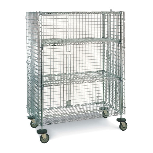 Intermetro SEC33EC Super Erecta Mobile Security Cart, 21 1/2