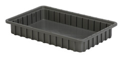 LEWISBins DC2025 Divider Box Container, 16.5
