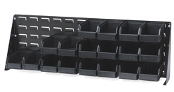 ESD-Safe Bench Rack Louvered Panel, 12