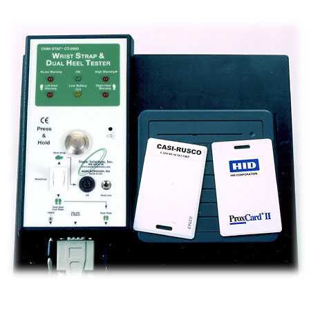 CT-8900 Ohm-Stat ESD Combo Tester wtih Footplate, Stand & Data Logger Software