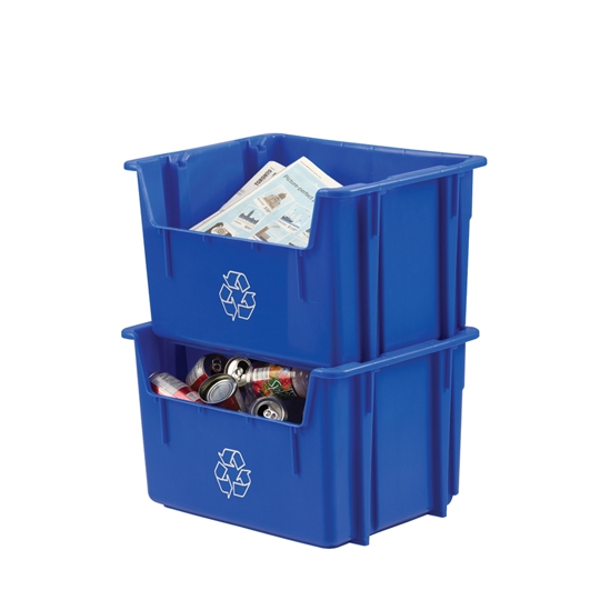 Industrial Storage Pods : Industrial storage totes warehouse containers correct