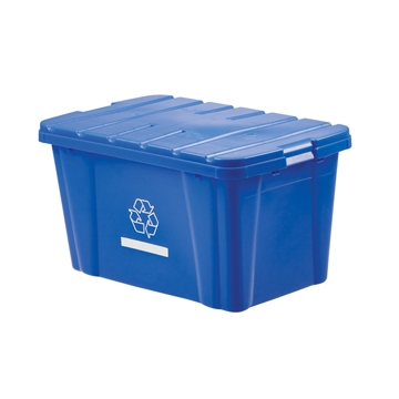 LEWISBins NPL266 Recycle Bin Cover Fits NPL265, 8/Case