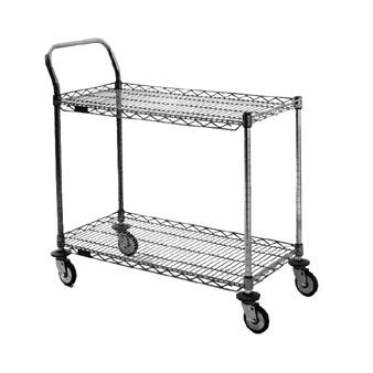 Eagle U2-1836C-RP 2-Shelf Redi-Pak Utility Cart, 18