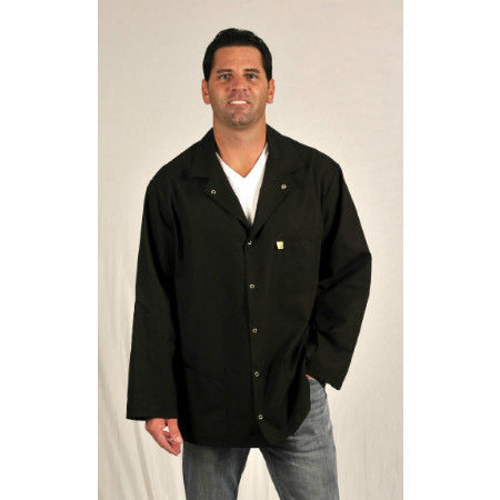 Tech Wear 361-ACK Nylostat ESD Jacket, Black