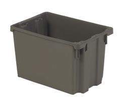 LEWISBins SN2013-12 Polylewton Stack-N-Nest Container, 19.4