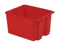 LEWISBins SN2117-12 Polylewton Stack-N-Nest Container, 21
