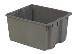 LEWISBins SN2420-13 Polylewton Stack-N-Nest Container, 24