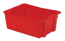 LEWISBins SN2618-10 Polylewton Stack-N-Nest Container, 26.1