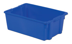 LEWISBins SN2818-10 Polylewton Stack-N-Nest Container, 28.4