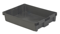 LEWISBins SN3022-6 Polylewton Stack-N-Nest Container, 29.6