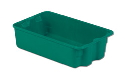 LEWISBins SN1610-5P Plexton Stack-N-Nest Container, 17.9