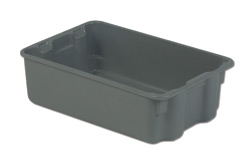 LEWISBins SN1812-6P Plexton Stack-N-Nest Container, 19.8