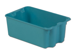 LEWISBins SN1812-8P Plexton Stack-N-Nest Container, 20.6