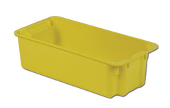 LEWISBins SN2010-7P Plexton Stack-N-Nest Container, 24.1