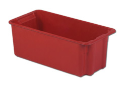 LEWISBins SN2010-9P Plexton Stack-N-Nest Container, 24.1