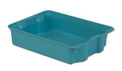 LEWISBins SN2217-6P Plexton Stack-N-Nest Container, 25.3