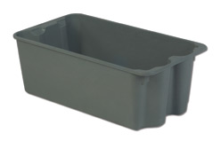 LEWISBins SN2716-11P Plexton Stack-N-Nest Container, 30.6