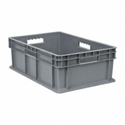 Akro-Mils 37288 Straight Wall Container, Solid Sides & Base, 15-3/4