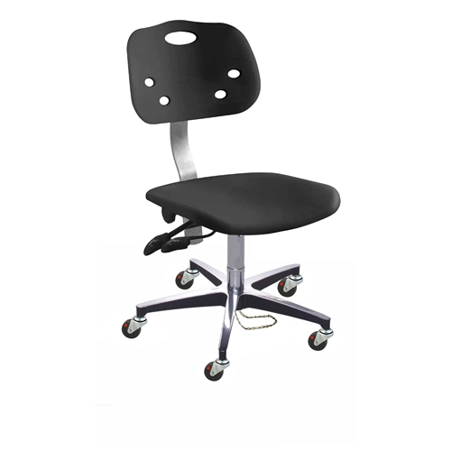 ArmorSeat ESD Chair w/ Casters, Height Range 17
