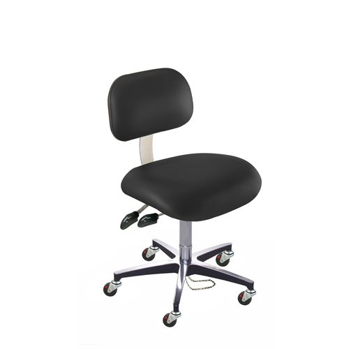 BioFit ETC Series Class 100 ESD Chair w/ Casters, Height Range 17