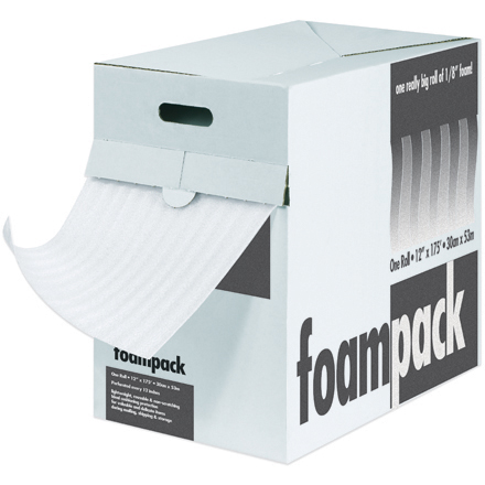 Polyethylene Air Foam Dispenser Box, 1/16