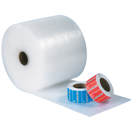 Perforated UPSable Bubble Cushioning Rolls, 12