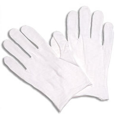 Cotton Inspection Gloves, 12 Pairs/Pack