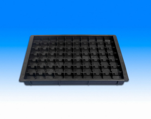 Fancort Ms Q12 Esd Esd Component Tray 70 Cell Grid