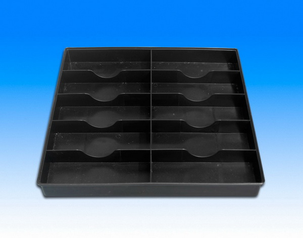 Fancort MS-Q14.1 ESD Component Tray w/ 10 Cells, 13.76