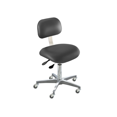BioFit ETC Series Class 100 Cleanroom Chair w/ Casters, Height Range 17