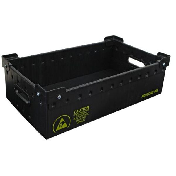 Plastek Stackable ESD Storage Totes