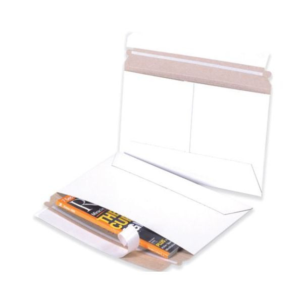 White Side Loading Flat Mailers