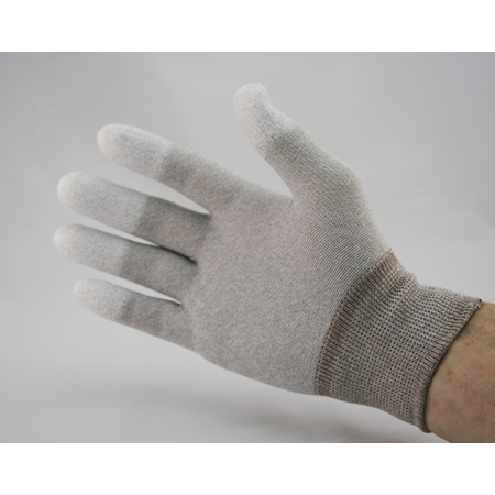 ESD Polyurethane Finger Tip Coated Gloves