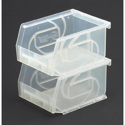 LEWISBins Clear Hanging & Stacking Bins