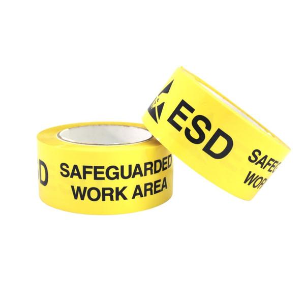 ESD Warning Floor Tape